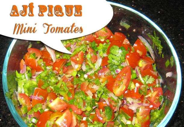 Recetas Con Ensaladas – Ensalada de Mini Tomates