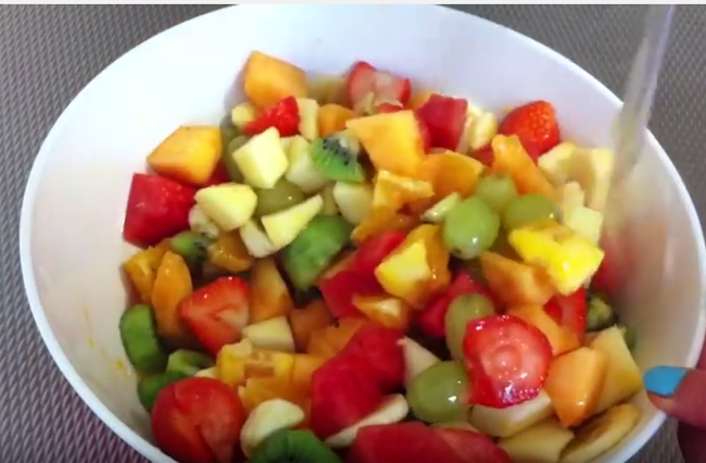 Video Ensalada De Frutas | Ingredientes de Ensalada