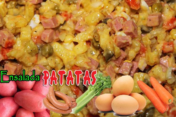 Ensalada De Patatas | Recetas Con Ensaladas