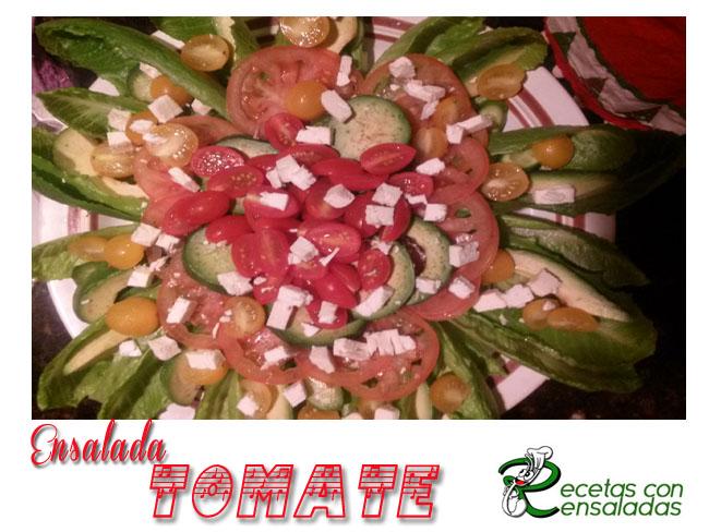 Ensalada Tomate | Preparación De Ensaladas Fáciles