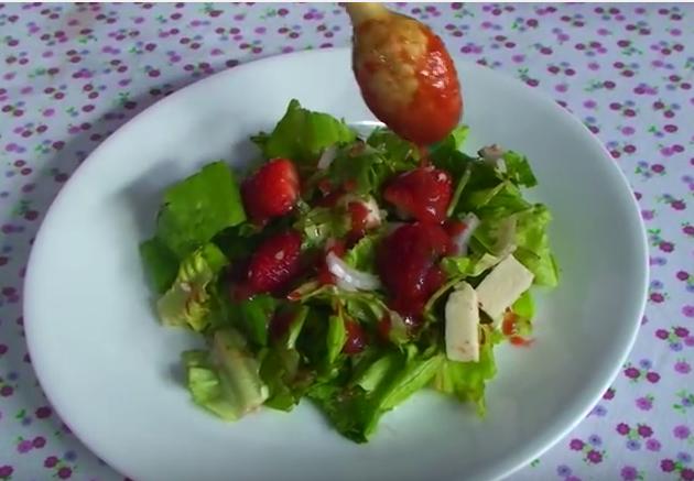 Video Ensalada Verde | Recetas Con Ensaladas